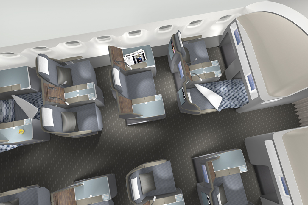 Japanese airline cabin interior patrick lindon for Industrial design business